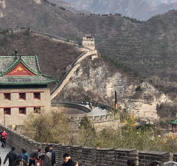 3 Girlfriends and the Great Wall of China
