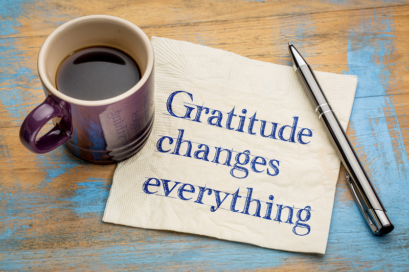 Gratitude is Great Medicine